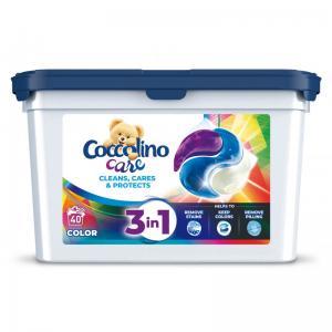 Коколино Капсули 3 в 1 за Цветно 40 дози