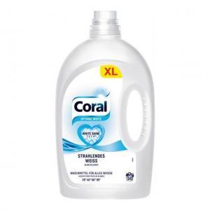 Корал Оптимал Уайт Течен Перилен 50 дози 2.5 л